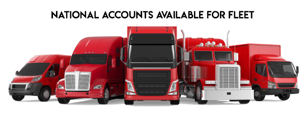 National Accounts Available for Fleets